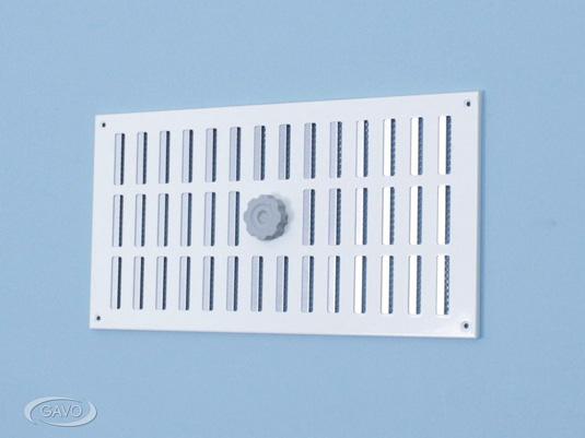 3a grille r glable en aluminium avec moustiquaire gavo. Black Bedroom Furniture Sets. Home Design Ideas